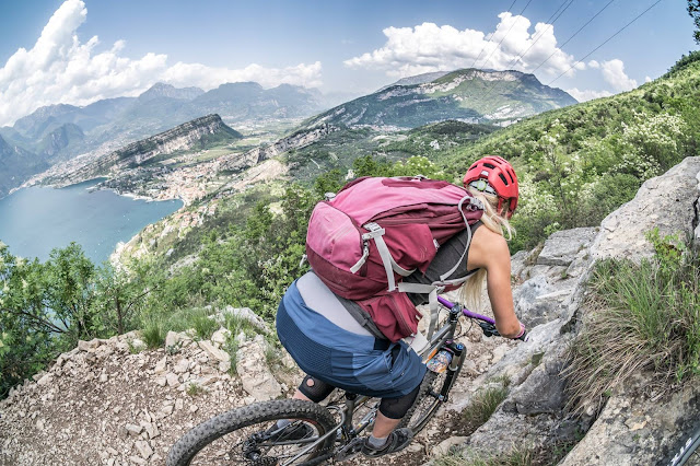 biketouren am gardasee mountainbike mtb monte altissimo coast trail