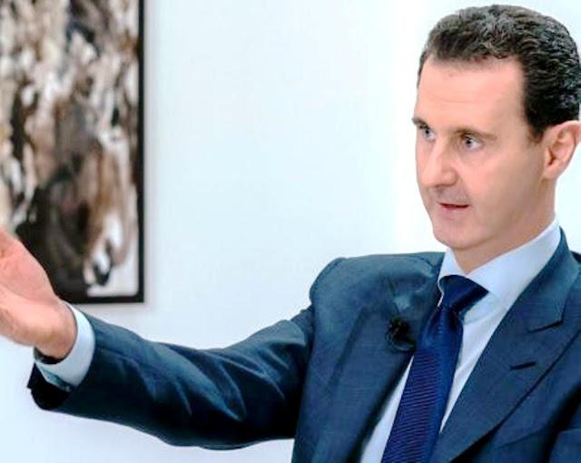 Για τον Σύρο πρόεδρο Άσαντ, ο Αμερικανός πρόεδρος Ντόναλντ Τραμπ είναι ο καλύτερος της ιστορίας των ΗΠΑ ... Επειδή είναι διαφανής και δεν υιοθετεί την υποκριτική διπλή ομιλία των προκατόχων του