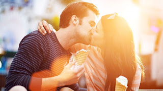 Kiss day text messages, SMS for boyfriend