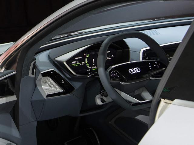 Audi e-Tron Sportback - Q6 - interior
