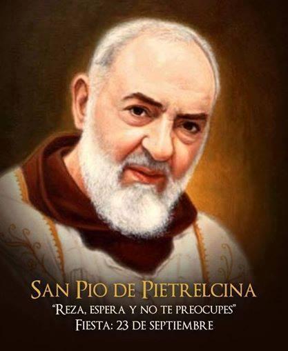 Santo Padre Pio De Pietrelcina Célebres Frases Del Padre