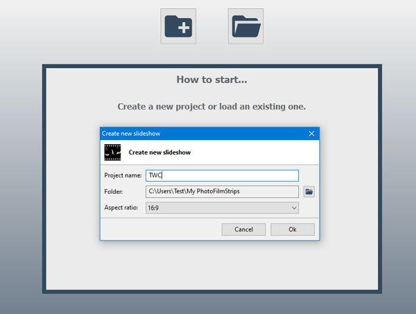 PhotoFilmStrip adalah pembuat tayangan slide gratis untuk Windows 10