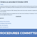 The Committee on Procedures - What does it do and how does it work?