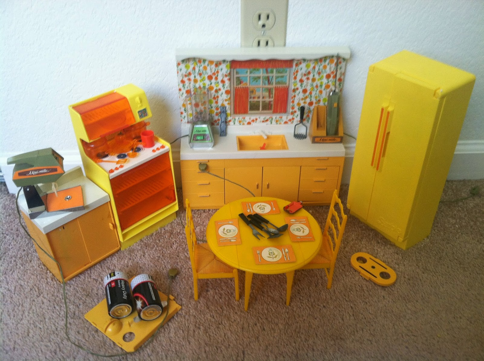 Barbie Dolls Hello Dreamhouse Dollhouse W Kitchen: The One And Only Mattel Barbie 1978 A Frame DreamHouse