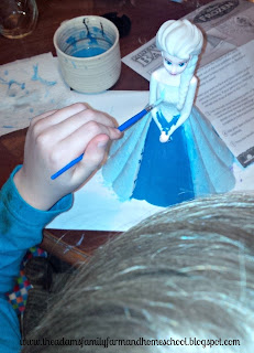Painting an Elsa Bank