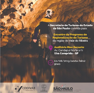 Encontro do Programa de Regionalização do Turismo está com inscrições abertas