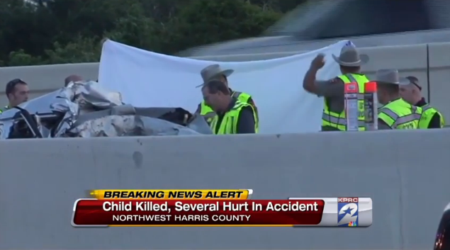 Trucker using cell phone causes fatal accident on Northwest Freeway