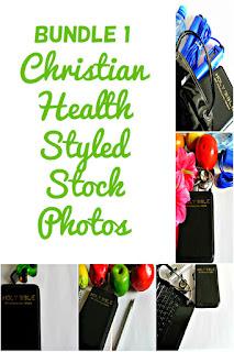 Bundle 1 Christian Health Styled Stock Photos