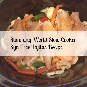 slimming world fajita recipe