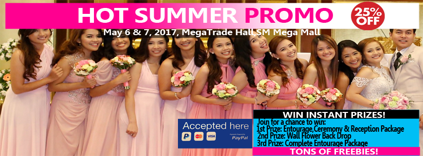 Dangwaflorist Hot Summer Promo May 6 Amp 7 2017