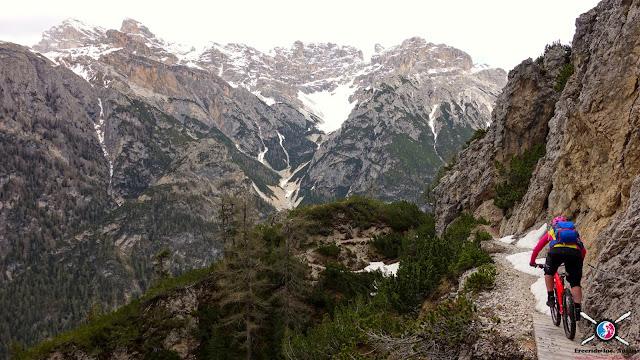 krasse Biketouren Dolomiten mtb
