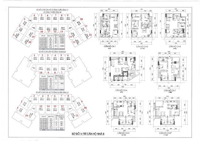 Thiết kế căn hộ Chung cư IA20 - Tòa B