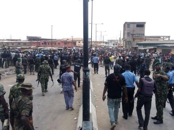 yoruba and hausa youths fight in ketu mile 12