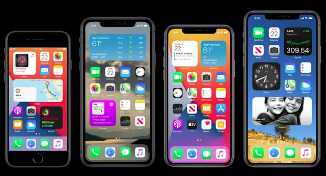 iOS 14 home screen widgets