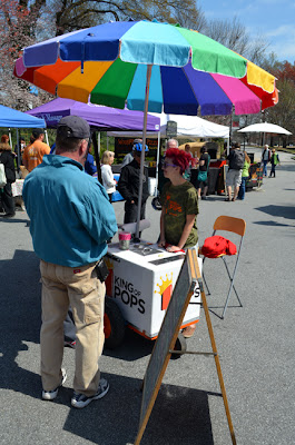 King of Pops at the Green Market