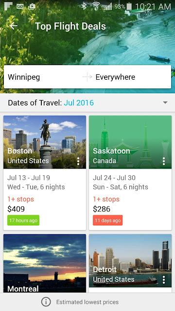 Skyscanner; aplikacja; app; travel app