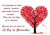 Muy felíz dia del Amor y la Amistad