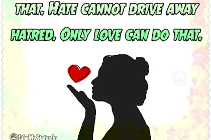 Only love can do that