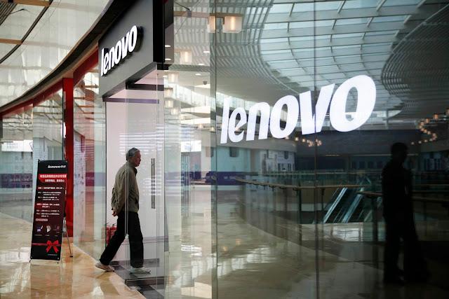 A gigante de tecnologia Lenovo anunciou nesta quinta-feira (23) um aumento de três vezes no lucro trimestral, ajudado pelas fortes vendas de computadores pessoais.