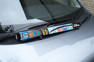 NWB(エヌダブルビー) 強力撥水コート デザインワイパー 550mm HD55A LA100S後期