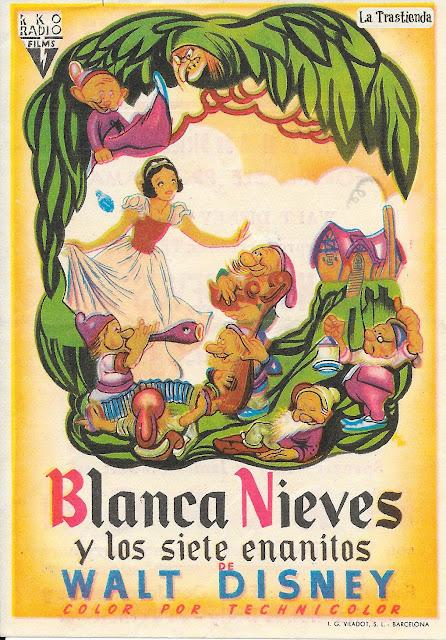 Blancanieves y los Siete Enanitos - Programa de Cine - Walt Disney (1937)