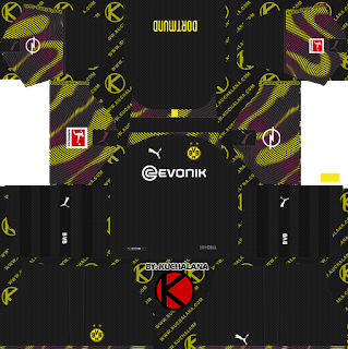 Borussia Dortmund 2019/2020 Kit - Dream League Soccer Kits