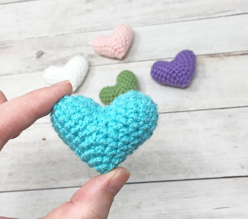 Free Crochet Heart Pattern | 708x800