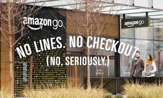 Amazon No Line Store