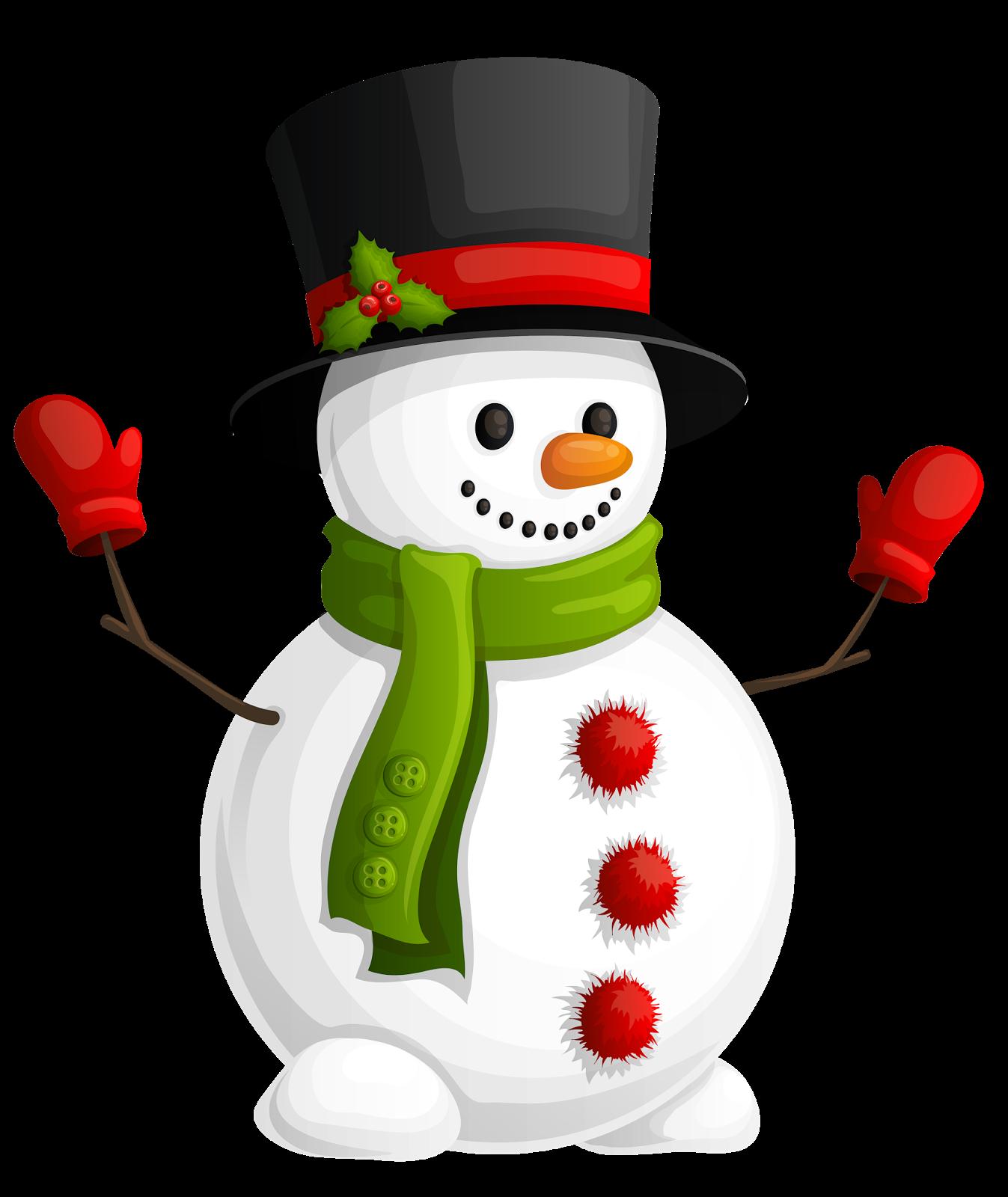 free vector clipart snowman - photo #45
