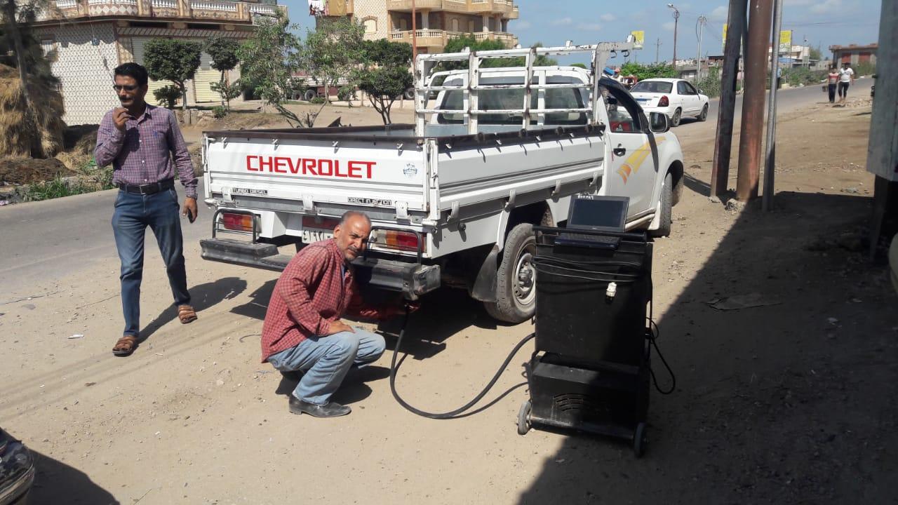 البيئة تفحص 101سيارة وتنفذ ندوات وورش عمل بالبحيرة