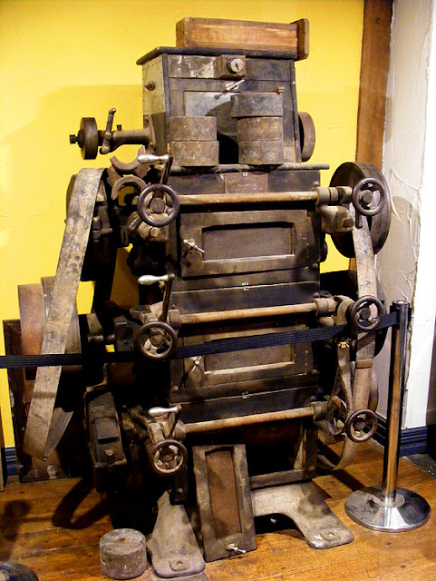 Old flour milling machine, Kyneton, Victoria, Australia.  Photographed by Susan Walter. Tour the Loire Valley with a classic car and a private guide.