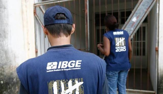 IBGE prorroga até segunda inscrições para 325 vagas com salários de até R$ 4,6 mil