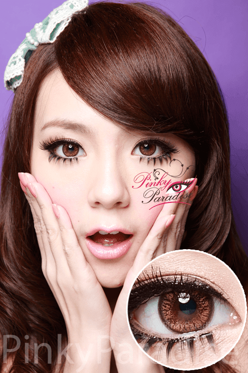 2a5fef6807bb Natural Brown - Circle Lenses   Colored Contacts