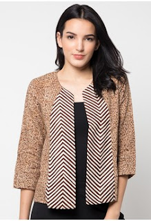 Model Blazer Batik Terbaru