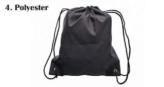 Polyester merupakan salah satu bahan yang sering digunakan untuk membuat tas serut
