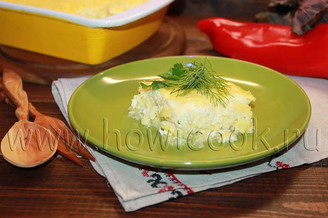 рецепт запеканки с кабачками и творогом