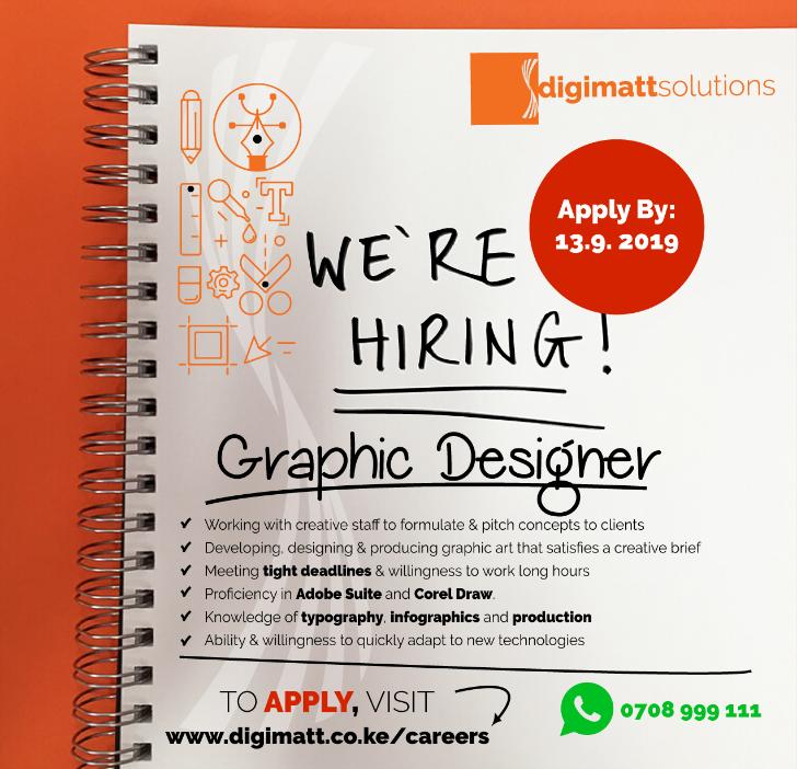 Graphic Designer Job at Digimatt Solutions