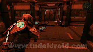 Dead Space - Menembak alien dengan laser