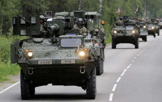 تطورات في أوروبا وتدريبات عسكرية لحلف الناتو تفوق الخيال فهل هناك حرب وشيكة ؟