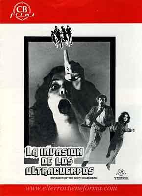 La Invasión de los Ultracuerpos una película dirigida por Philip Kaufman.