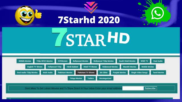 7Starhd 2020 HD Movies Download Website