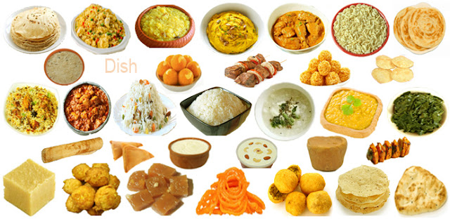 Dishes names, Indian subcontinent dishes names,list of Indian dishes
