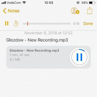 Glazdow - New Recording (prod by Glazdow)