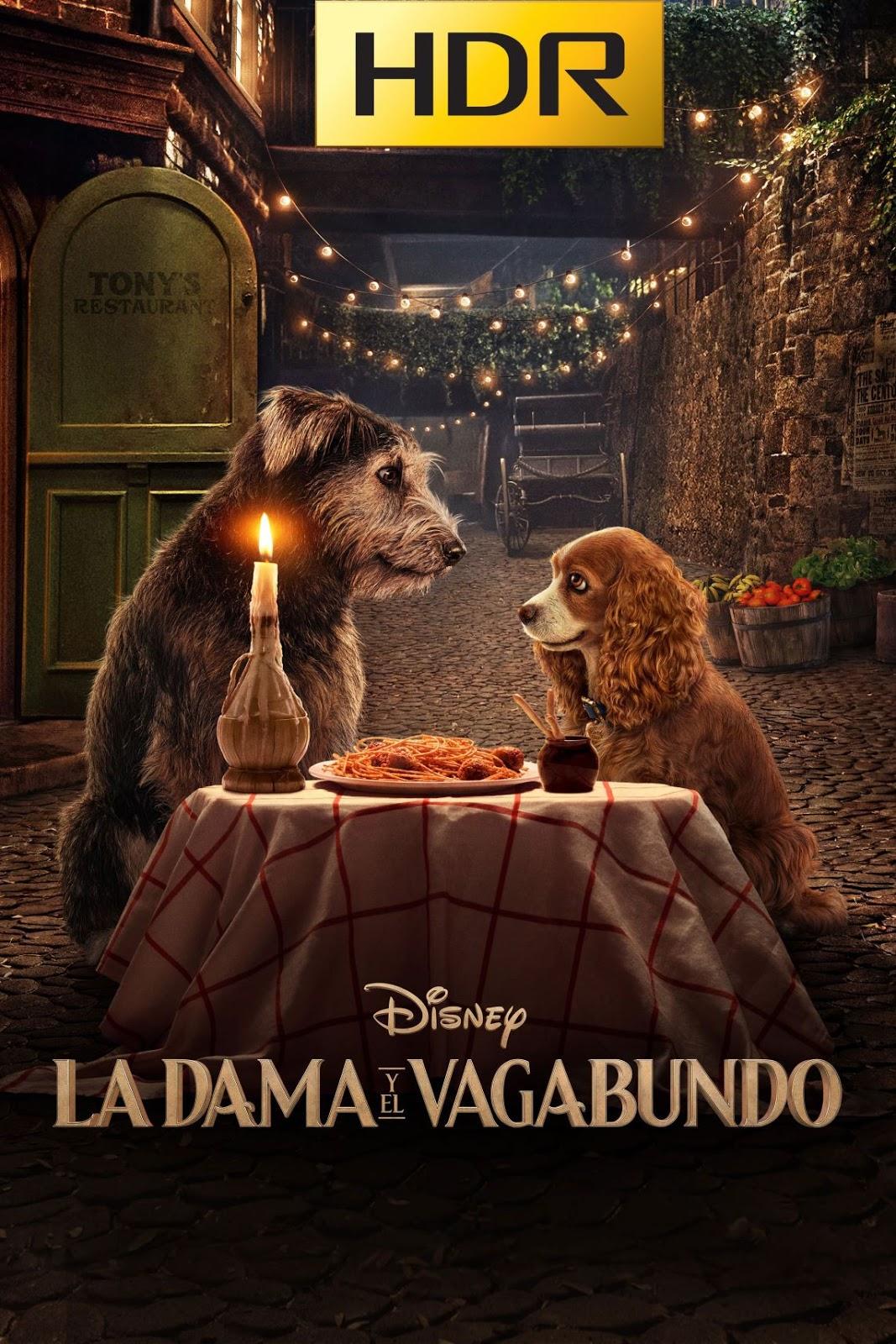 La Dama y el Vagabundo (2019) 4K UHD HDR Webrip Latino