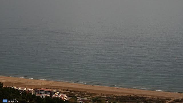 Castelldefels, il mare