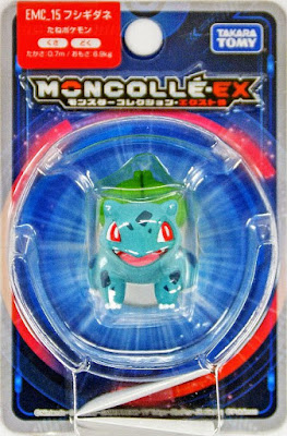 Bulbasaur figure Takara Tomy Monster Collection MONCOLLE EX EMC series