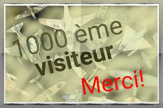 Vie du blog, 1000 visiteurs