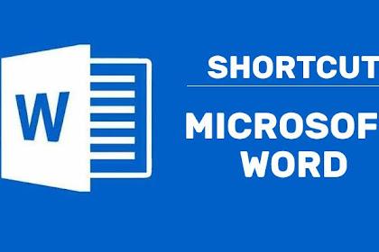 Shortcut Microsoft Word Yang Penting Kamu Ketahui!