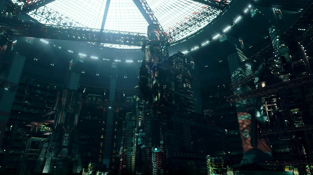 Shipyard interior on Mars in Season 4 of The Expanse