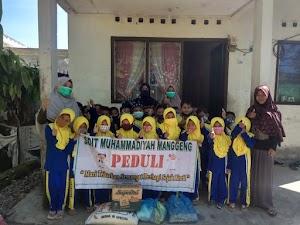 SDIT Muhammadiyah Manggeng Peduli Kunjungi Rumah Dhuafa